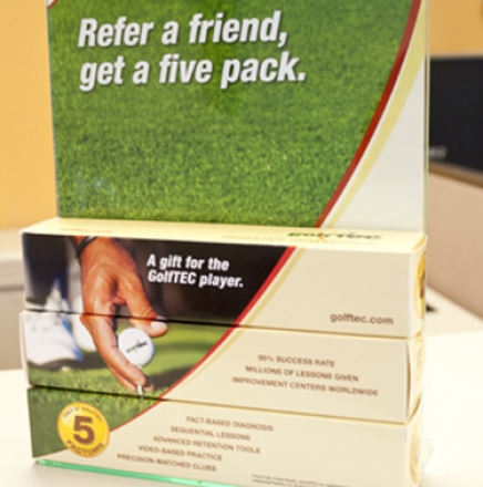 Golf Ball Package Design